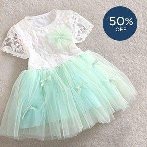 Peach Giirl Dresses