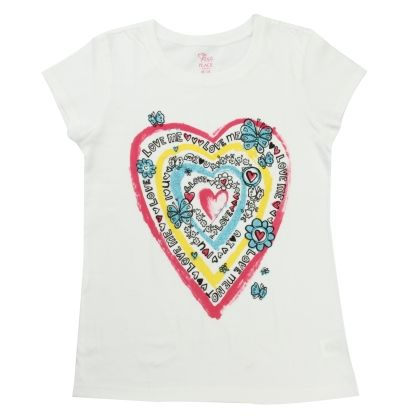 Short Sleeve Graphic T-shirt - The Children's Place - 13117