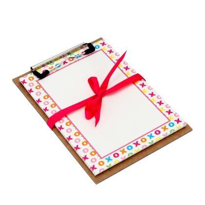 Clipboard Set Of 50 Pieces - Xoxo - Magnolia Design