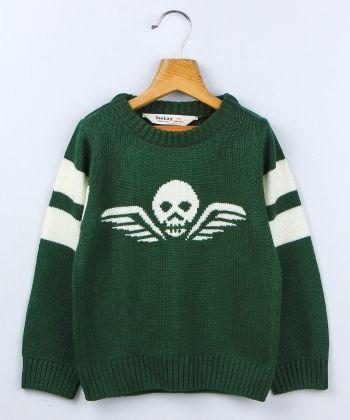 Skull Flyer Antarcia Full Sleeve Sweater - Beebay
