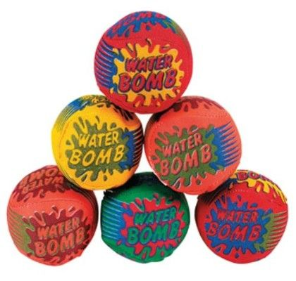 Water Bomb - Splash Ball - Set Of 3