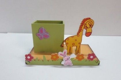 Animal Pencil Stand With Base - KIDOZ