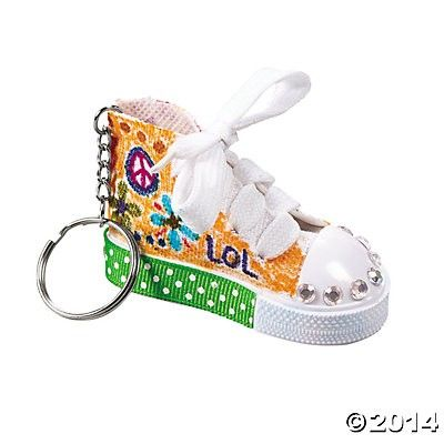 Diy Shoe Key Chains - Hullabaloo