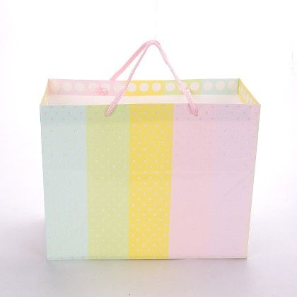 Multi Colour With White Dot - The Gift Bag