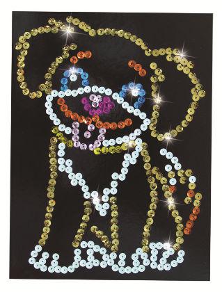 Simba - Art & Fun Sequin Fun - Dog - Simba Art & Fun