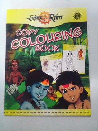 Sons Of Ram Copy Colouring Book - Bright Start
