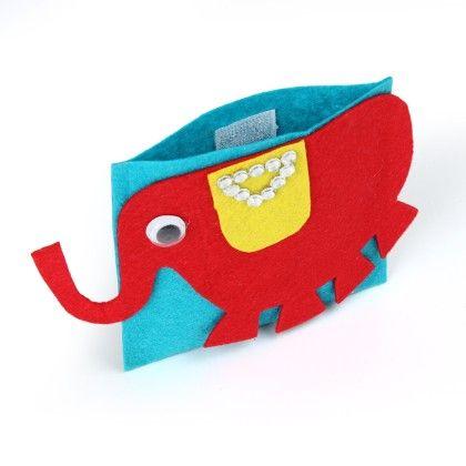 Elephant  Cash Envelopes - Li'll Pumpkins