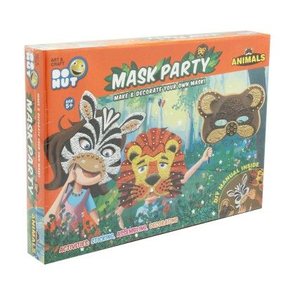 Mask Party - Animal - ToysBox