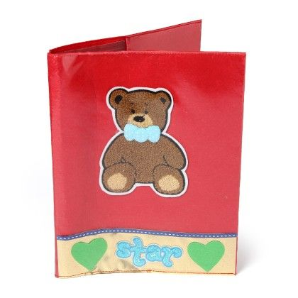Teddybear  A-4 File Folder - Li'll Pumpkins