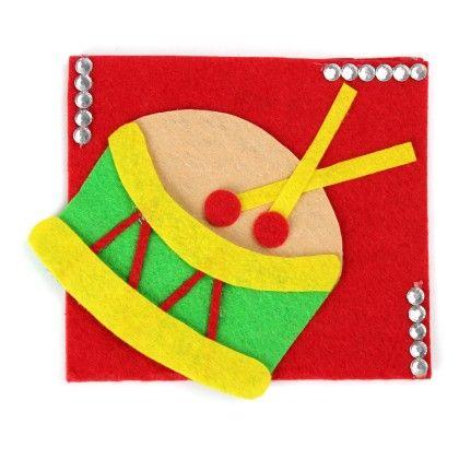 Drum  Cash Envelopes - Li'll Pumpkins