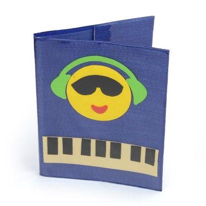 Smiley Rockstar  A-4 File Folder - Li'll Pumpkins