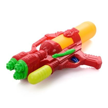 Neon Orange & Yellow Water Gun - Holi Splash