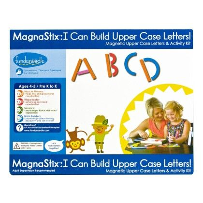 Upper Case Magnetic Letters (magnets Only) - Fundanoodle