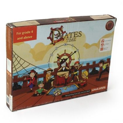 Pirates Of Time (grade 4+) Time Action Strategy Game For Kids - Logic Roots