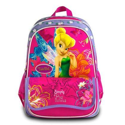 Genius Disney Xp Fairies School Bag - Pink