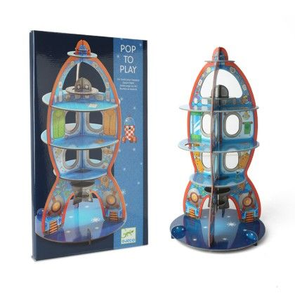Children Toys Up To Space 3d - DJECO