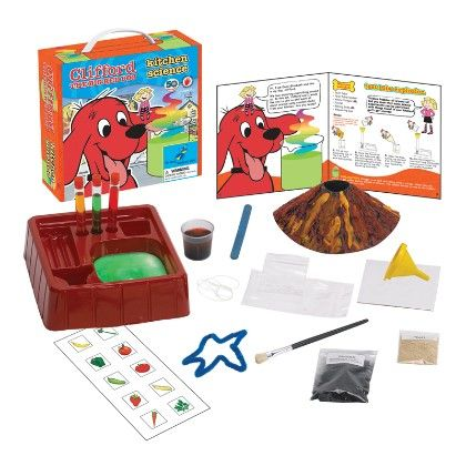 Clifford The Big Red Dog - Kitchen Science - The Young Scientists Club