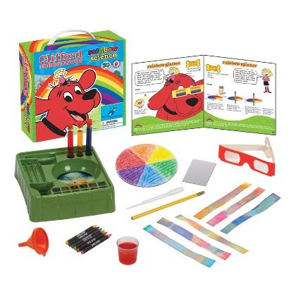 Clifford The Big Red Dog™ - Rainbow Science - The Young Scientists Club