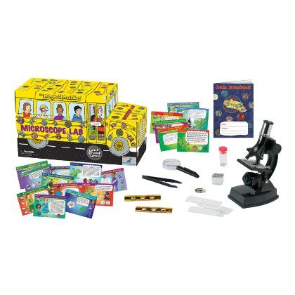 The Magic School Bus Lab - Microscope Lab - The Young Scientists Club