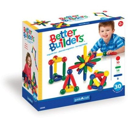 Guide Craft – Better Builders 30 Pcs Set