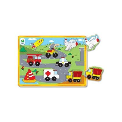 My First Lift & Learn Transportation Puzzle - Learning Journey