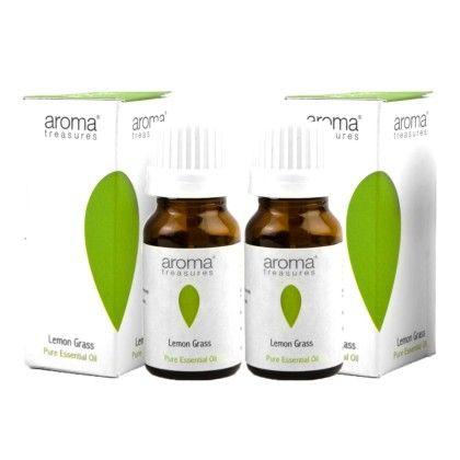 Lemon Grass 100% Pure Natural Essential Oil (pack Of 2) - Aroma Treasures