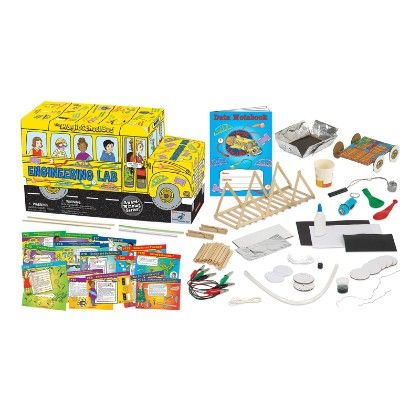 The Magic School Bus Lab™ - Engineering Lab - The Young Scientists Club