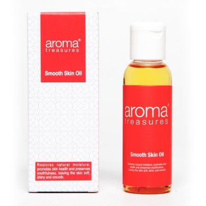 Smooth Skin Oil For Dry Skin - Aroma Treasures