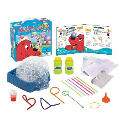 Clifford The Big Red Dog™ - Bubble Science - The Young Scientists Club