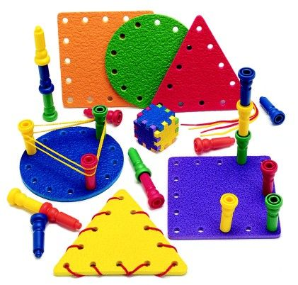 Tall Stacker Multi-activity Shapes - Patch