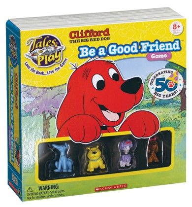 Clifford Tales To Play® Be A Good Friend™ Game - Patch