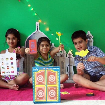 India Activity Box - Cocomoco Kids