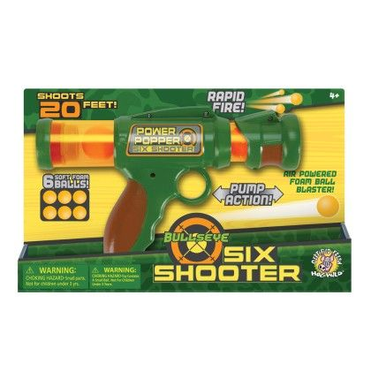 Bulls Eye Six Shooter - The Hog Wild Toys