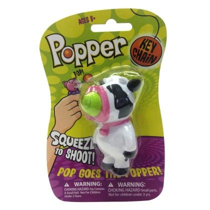Cow Popper Key Chain - The Hog Wild Toys