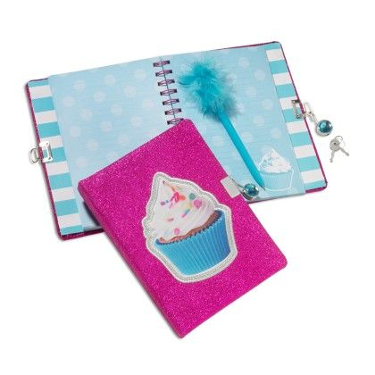 Cupcake Journal With Pen - 3 Sprouts
