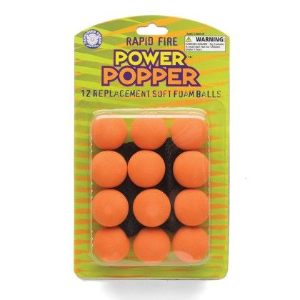 Power Popper Refills Orange - The Hog Wild Toys