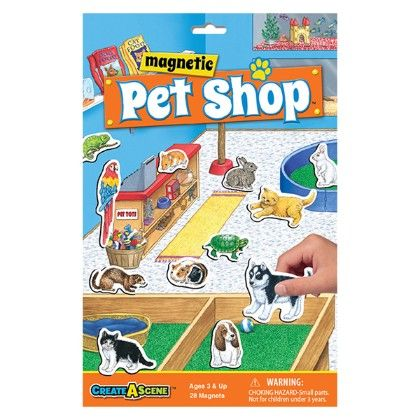 Create A Scene™ Magnetic Pet Shop - Patch