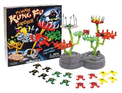 Flying Kung Fu Frogs - Patch