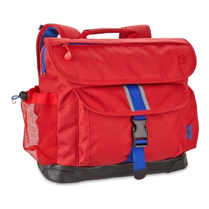 Signature Kids Medium Backpack - Red - Bixbee