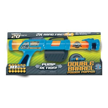Atomic Double Barrel Power Popper - The Hog Wild Toys