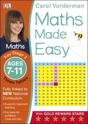 Maths Made Easy Times Tables Ages 7-11 Key Stage 2 - DK Publishers