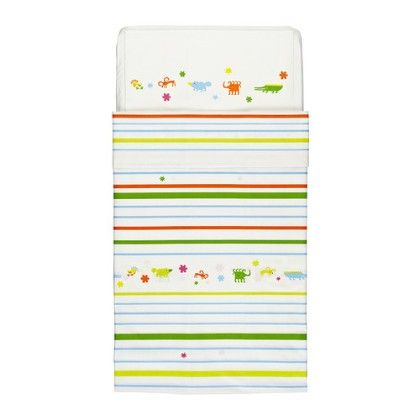 Crib Duvet Cover & Pillowcase- Multicolor - Home Essentials