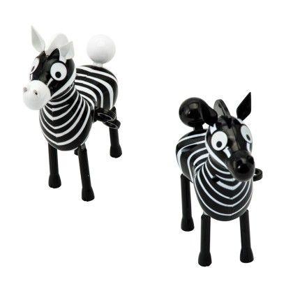 Salt N Pepper Zebras - Schylling Toys
