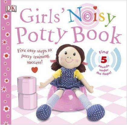 Girls Noisy Potty Book - DK Publishers