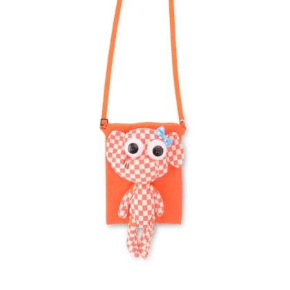 Orange Sling Bag With An Elephant - Big Mouth Factory