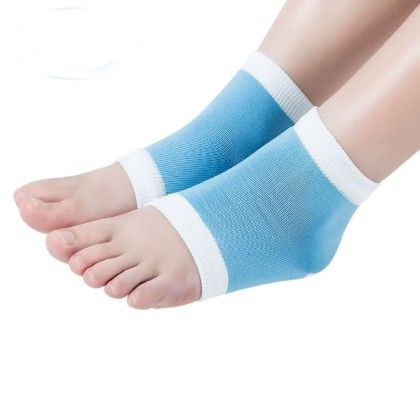 Gel Heel Socks For Dry Hard Cracked Skin Moisturising - Beaut (TM)