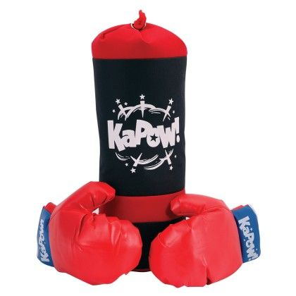 Punching Bag & Glove Set - Schylling Toys