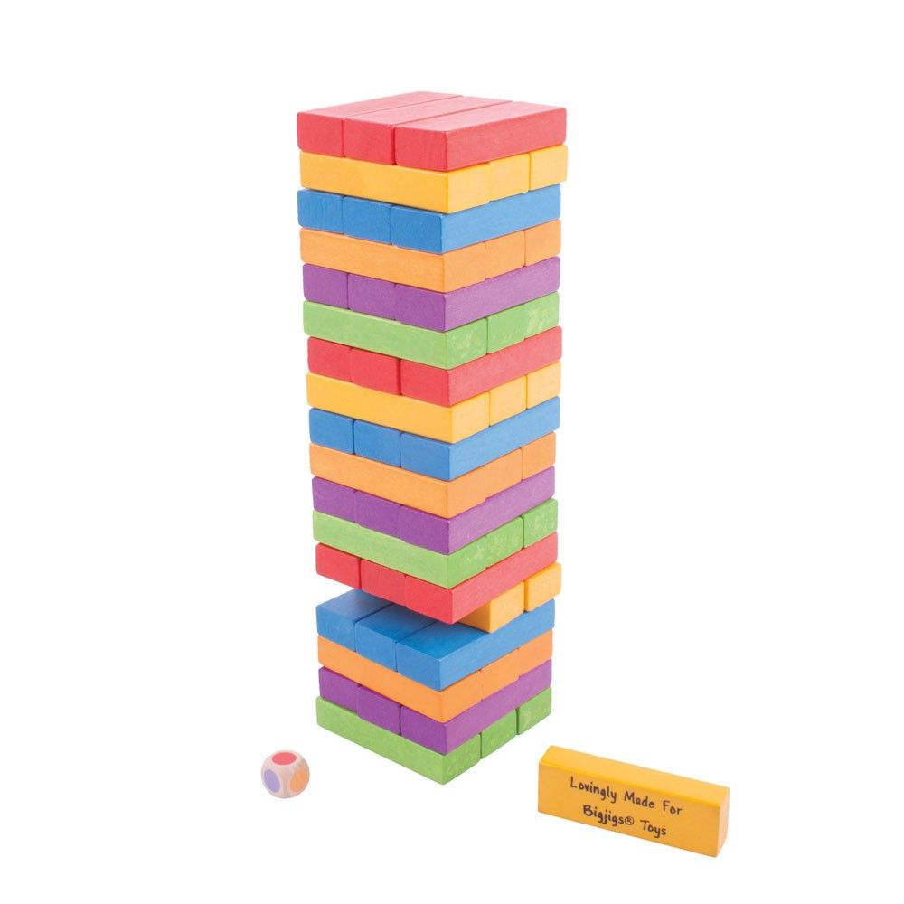 Stacking Tower Game - Big Jig Toys