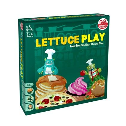 Lettuce Play - Chalk And Chuckles