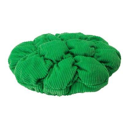 Stickat Stool Cover - Green - Home Essentials